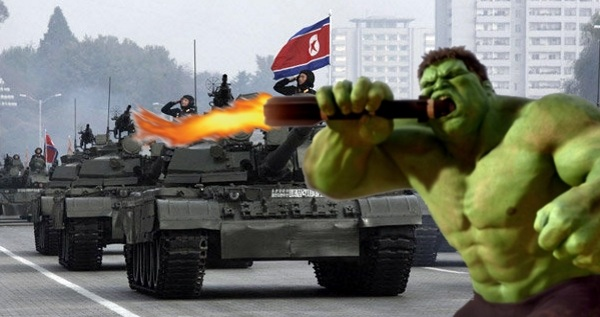 North Korea Hulk
