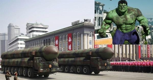 Nortrh Korea Hulk