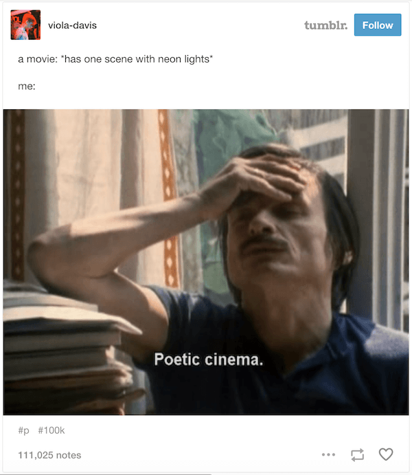 Poetic Cinema