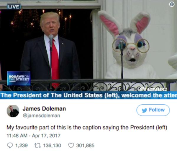 President Left