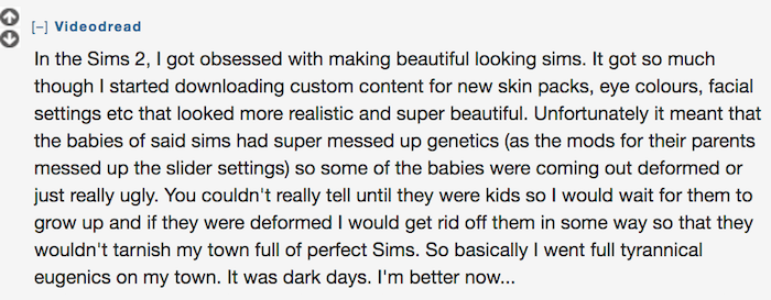 Sim Eugenics