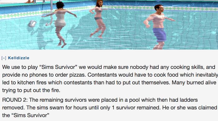 Sims Survivor