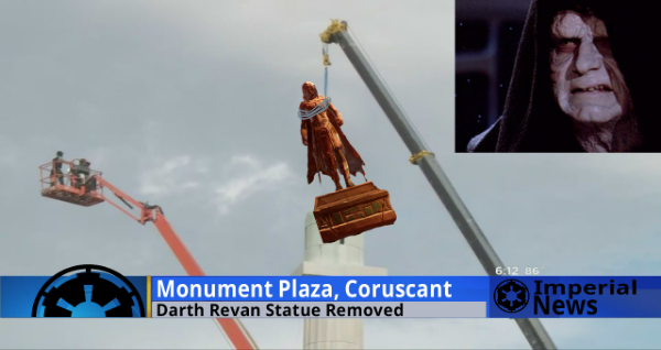 Sith Statue Removal