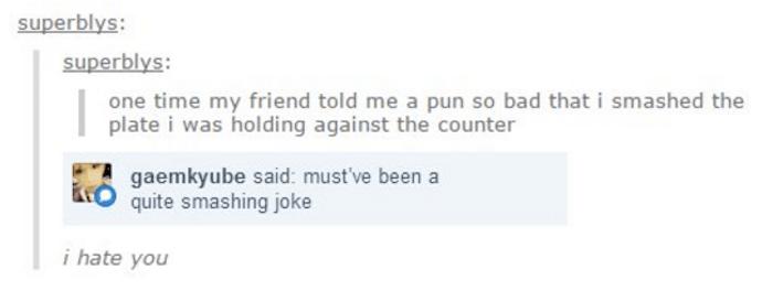 Smashing Joke