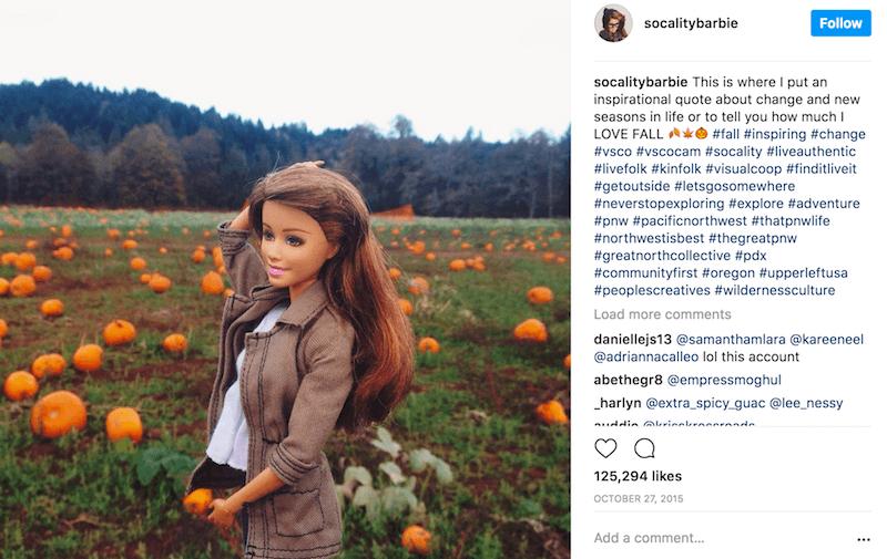 Socality Barbie