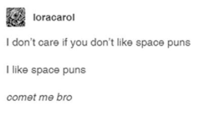 Space Puns