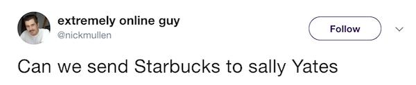 Funny Tweets Starbucks