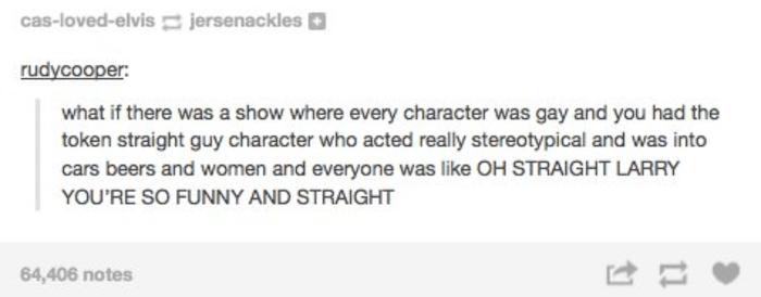 Straight Larry