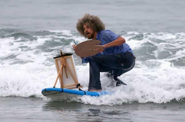 Surfing Bob