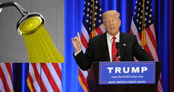 Trump Golden Shower