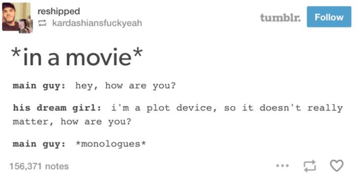 Tumblr Movies Plot Device