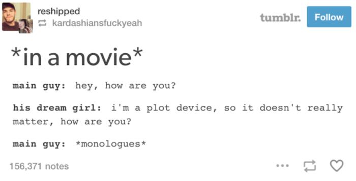 Tumblr Movies Plot Device
