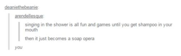 Tumblr Puns Soap Opera