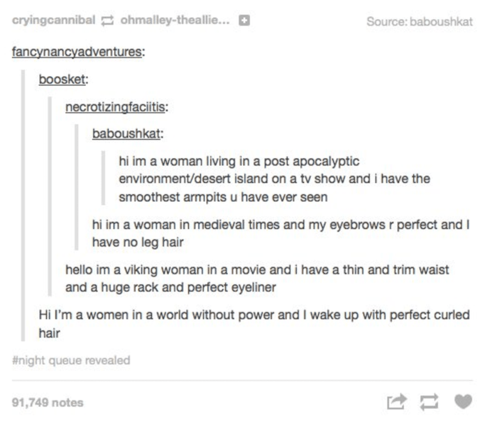 Unrealistic Women