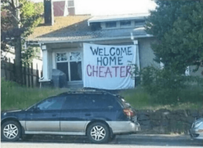 Welcome Home Cheater