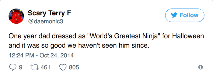Worlds Greatest Ninja