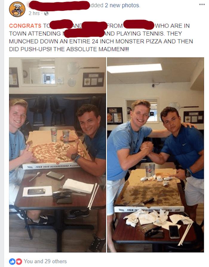 A Whole Pizza