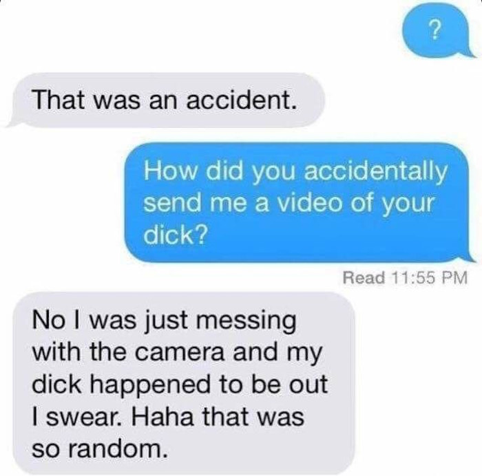 Accidental Dick Video
