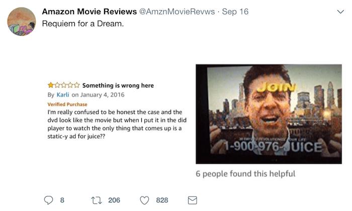 Amazon Reviews Requiem