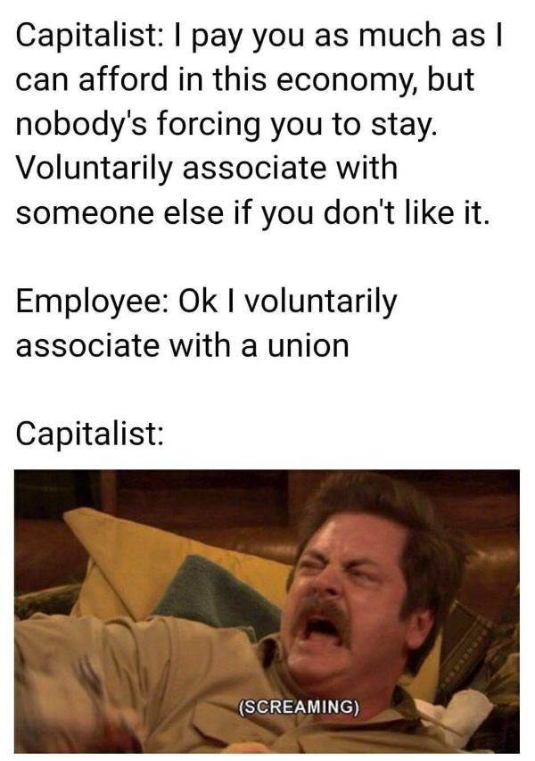 Associate With A Union