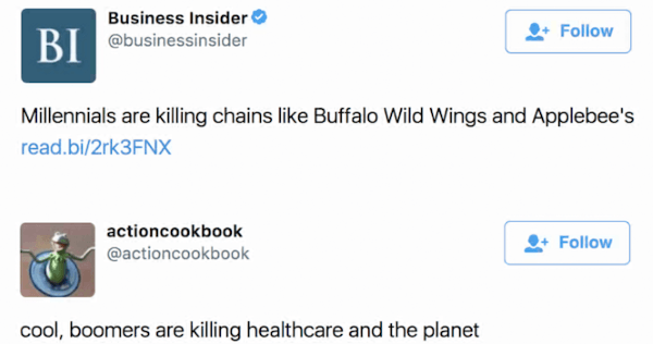 Boomers Killing Planet