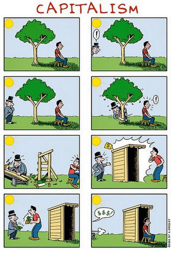 Capitalism Comic