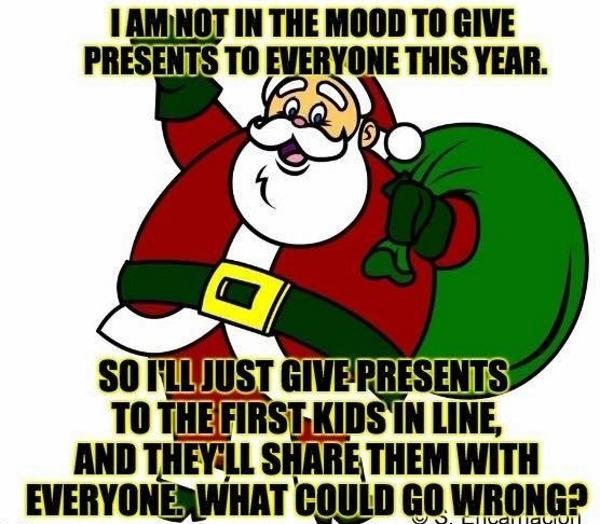 Capitalist Santa