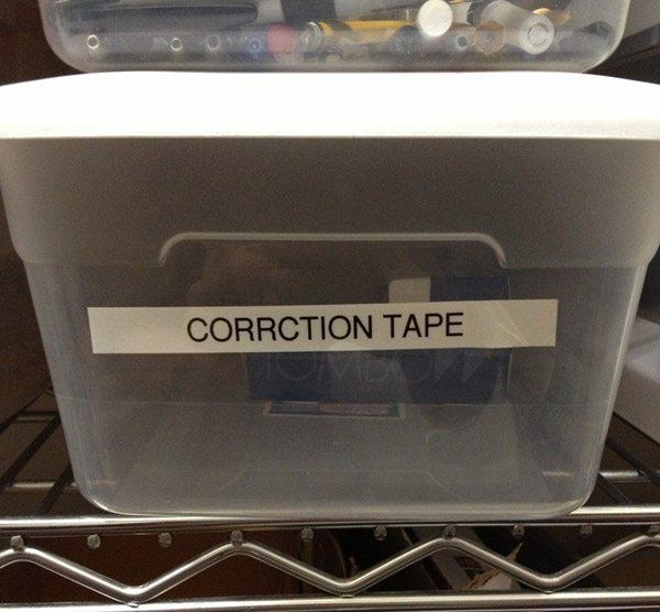 Correction Tape