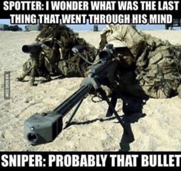 Dark Sniper Joke