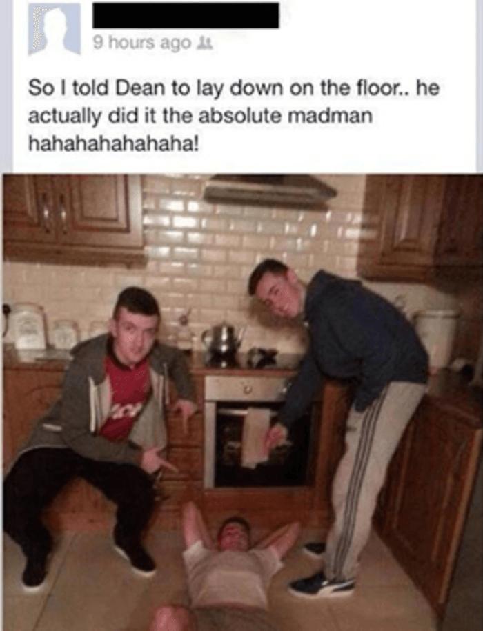 Dean On The Floor