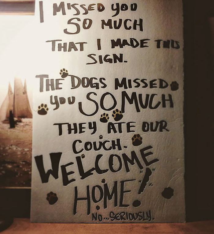Dog Misses You