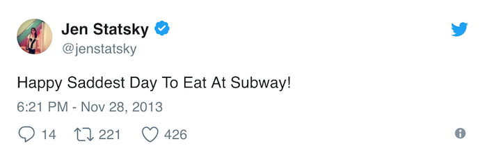 Eat Subway