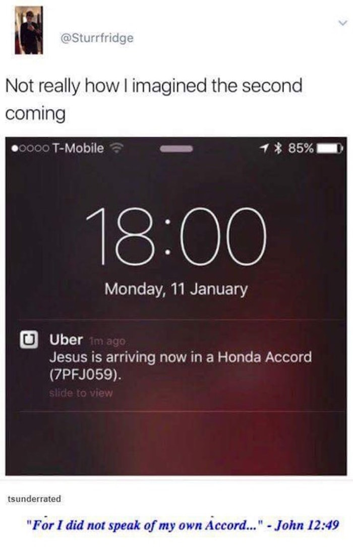 Jesus Is Arriving