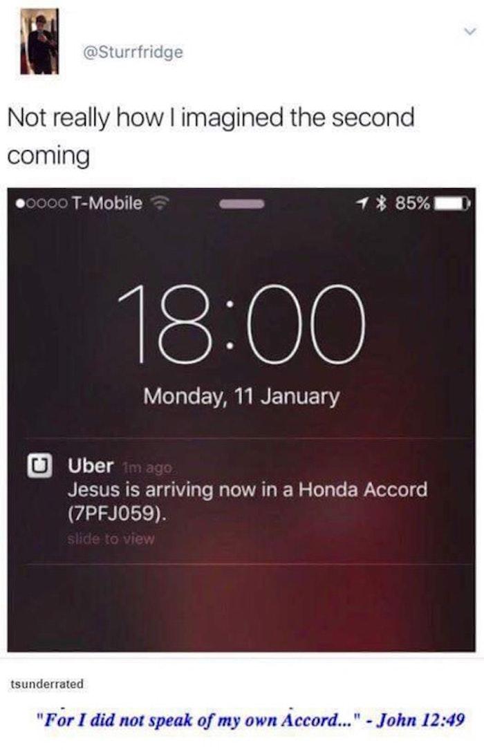 Jesus Is Arriving