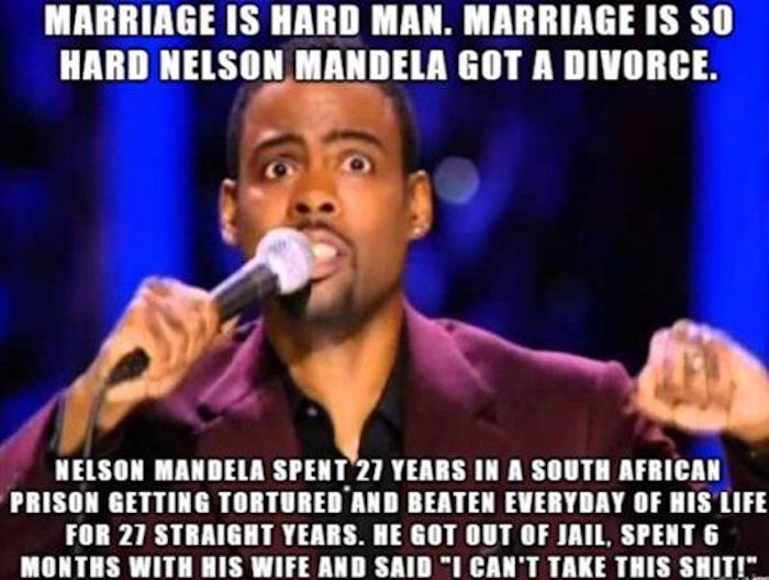 Nelson Mandela Divorce