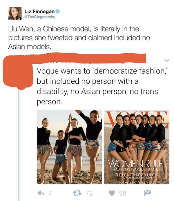 No Asians