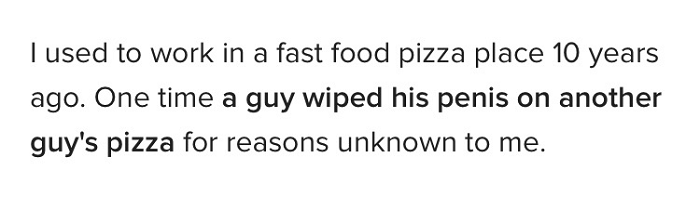 Penis Pizza