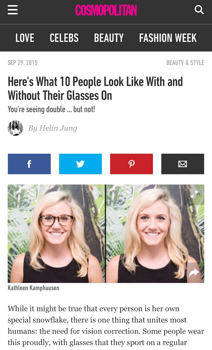 People With Glasses