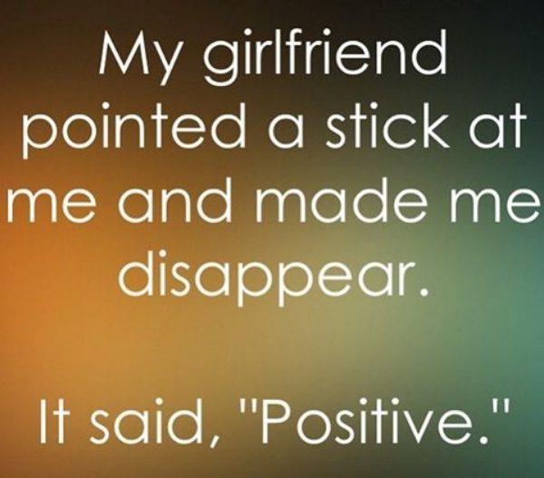 Positive Stick