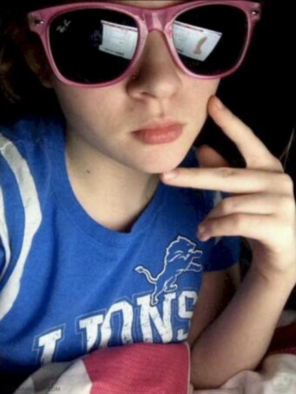 Reflection Fails Sunglasses