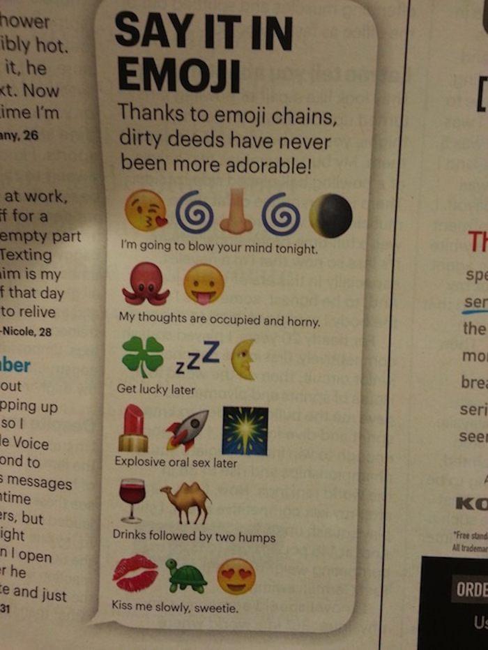 Say It In Emoji