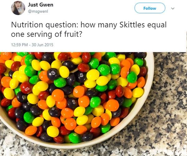 Skittles Fruit