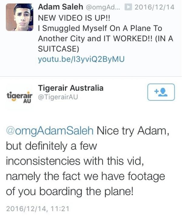 Smuggled Onto Plane