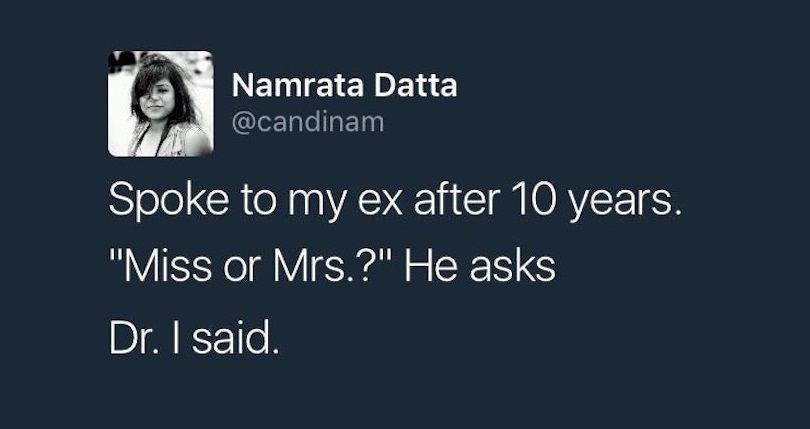 Spoke To My X