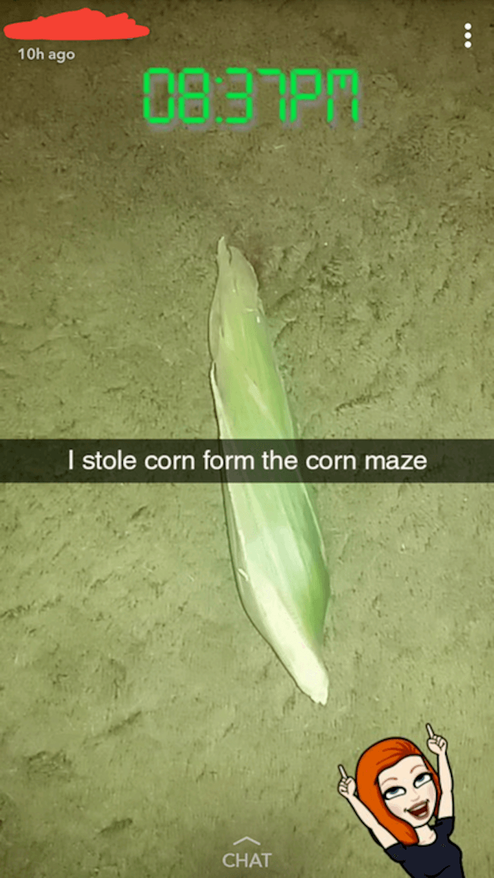 Stolen Corn
