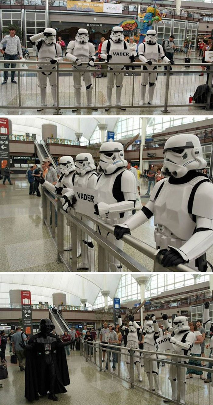 Stormtroopers Airport