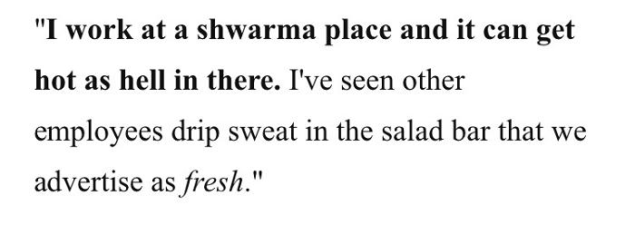 Sweaty Salad