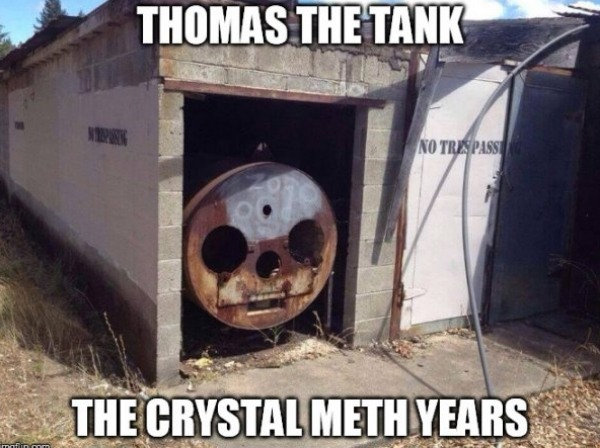 Thomas The Crank Engine