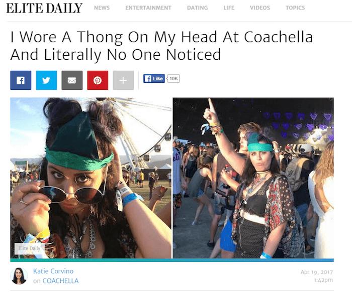 Thong Head