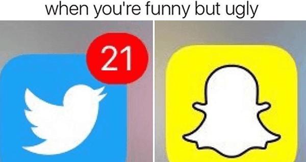 Twitter Snapchat